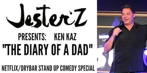 Ken Kaz Comedy Special at JesterZ -Canceled - Regular Show as scheduled