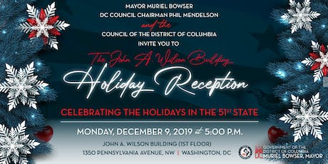 Mayor Muriel Bowser's Holiday Reception tickets