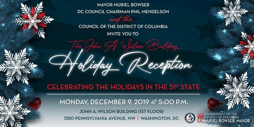 Mayor Muriel Bowser's Holiday Reception