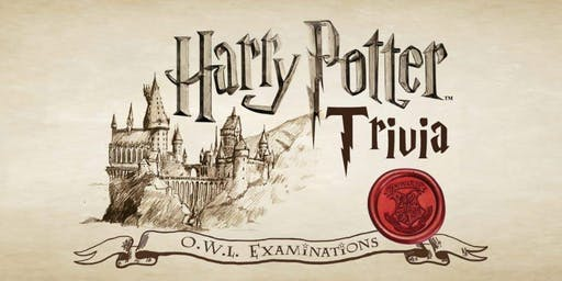 Harry Potter Trivia NIGHT 2 (Sunday 12/15)