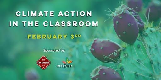 EcoRise: Climate Action in the Classroom: San Antonio