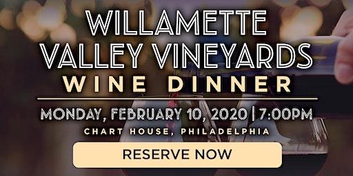 Chart House Willamette Valley Vineyards Wine Dinner- Philadelphia, PA
