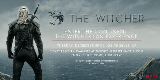 ENTER THE CONTINENT: THE WITCHER FAN EXPERIENCE & SCREENING