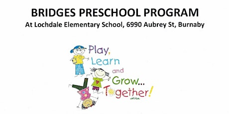 FREE Bridges Preschool Program tickets