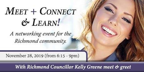 MEET + CONNECT & LEARN - Richmond Community tickets