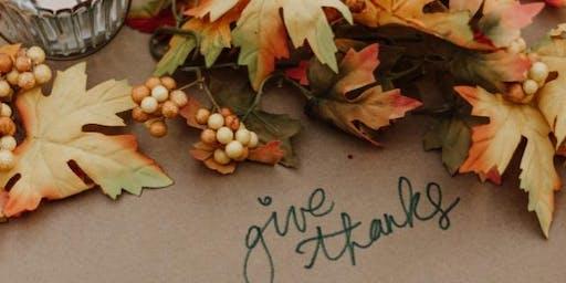 Blooms & Booze: Thanksgiving Centerpiece Workshop
