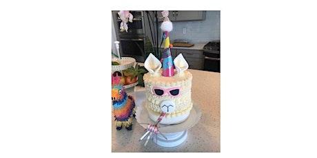 Falala Llama Cake Decorating Workshop tickets