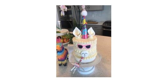 Falala Llama Cake Decorating Workshop