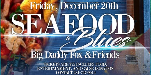 Overcoming Barriers Inc presents Seafood & Blues  Raise the Roof Fundraiser