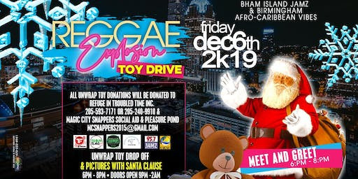 Unwrap Toy Donations / Meet and Greet