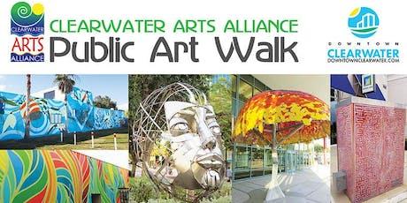 Clearwater Arts Alliance Public Art Walk tickets
