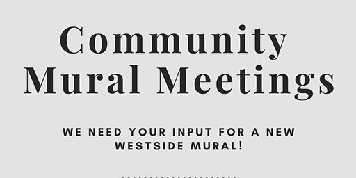 Westside Public Art Community Mural Workshop