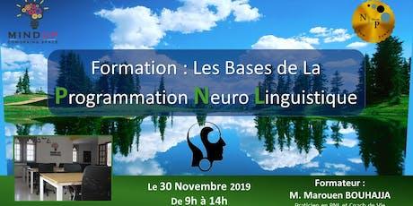 Les Bases de la programmation Neuro linguistique billets