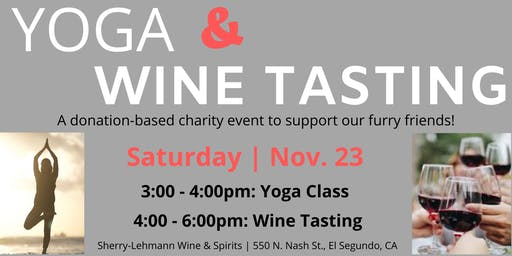 YOGA & WINE TASTING EVENT