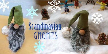 Scandinavian Gnome Making tickets