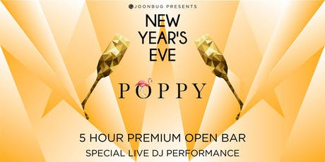 Poppy / Petite Taqueria  New Years Eve 2020 Party tickets