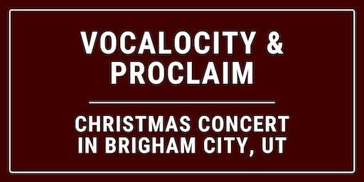 Proclaim & Vocalocity Christmas Concert