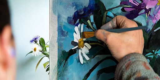Aine Divine - Mixed Media Flower Painting Workshop (Expression of Interest)