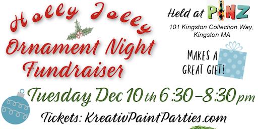Holly Jolly Ornament Night  Fundraiser at Pinz