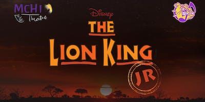 The Lion King, Jr. Thurs. 1/16