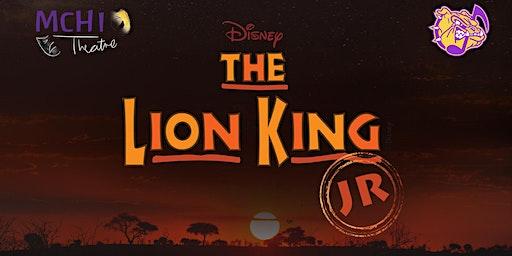 The Lion King, Jr. Sun. 1/19