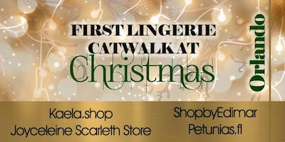 First Lingerie Catwalk At Christmas