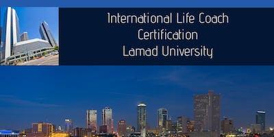 2-DAY FAST TRACK INTERNATIONAL LIFE COACH CERTIFICATION( TEXASFAVOR)