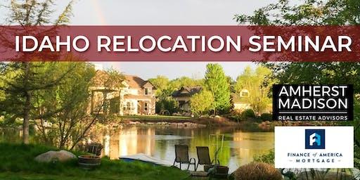 Idaho Relocation Seminar-Ontario