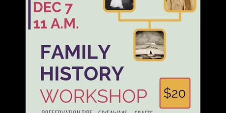 Family History Workshop tickets