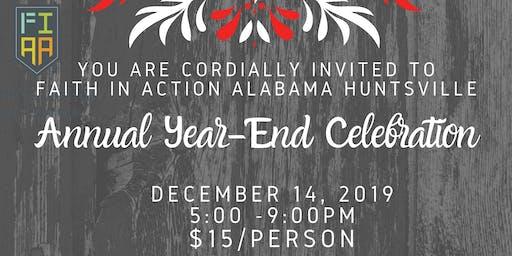 Faith in Action Alabama Huntsville Year-End Celebration