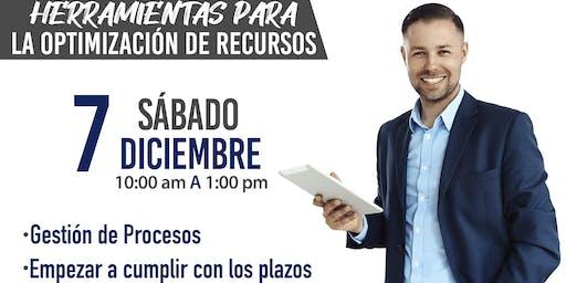 """TALLER """"HERRAMIENTAS PARA LA OPTIMIZACION DE RECURSOS"""""""