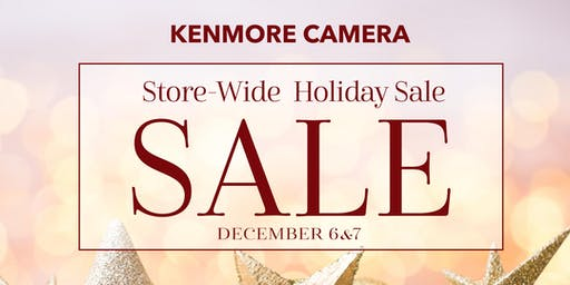 Kenmore Camera Holiday Sale