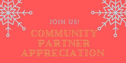 Holiday Community Partner Appreciation Breakfast
