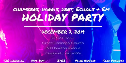 Chambers, Harris, Dent, Echols  & Em Annual Holiday Party