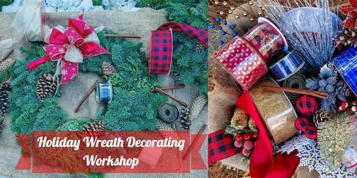 Daisy Jane's Wreath Decorating Workshop at Haven G