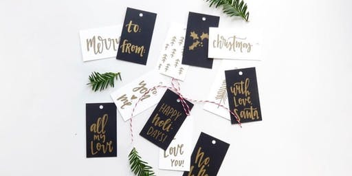 Badass Lady Workshop: Holiday Hand Lettering