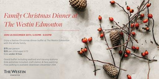 Family Christmas Party at the Westin Edmonton
