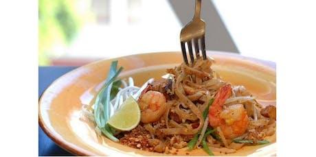 Papaya Salad, Pad Thai Shrimp, Mango Sticky Rice (12-28-2019 starts at 6:00 PM) tickets