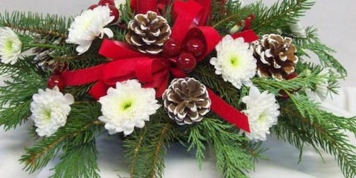 Make your own Christmas Centerpiece at ThornCreek Winery