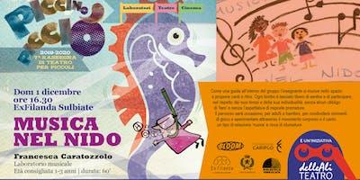 PICCINO PICCIÒ LABORATORIO - Musica nel nido