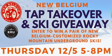 New Belgium Tap Takeover & Ski Giveaway at Franklin Tap tickets