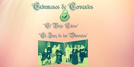 ENTREMESES DE CERVANTES - El Viejo Celoso y El Juez de los Divorcios entradas