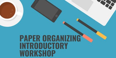 Free Paper Organizing Introductory Workshop