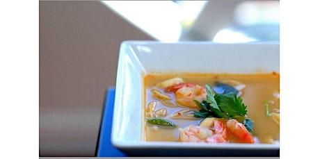 Tom Yum Shrimp, Stir-Fried Egg Noodle, Mango Sticky Rice  (01-15-2020 starts at 6:00 PM) tickets