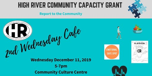 2nd Wednesday Cafe with Our High River