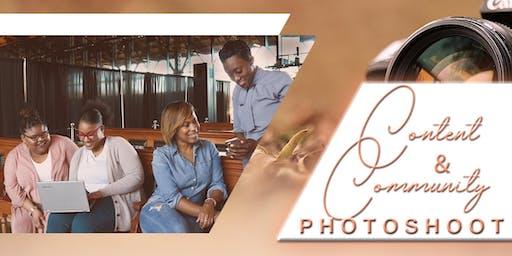 Content & Community Photoshoot