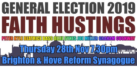 Faith Hustings General Election 2019 tickets