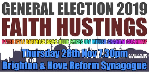 Faith Hustings General Election 2019