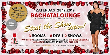 Bachatalounge - Steal The Show tickets