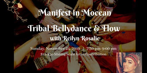 Manifest in Mocean with Tribal Bellydance
